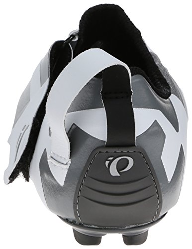 Pearl Izumi Women's W Tri Fly V Carbon W/b Tri Cycling Shoe, White/Black, 40 EU/8.4 B US