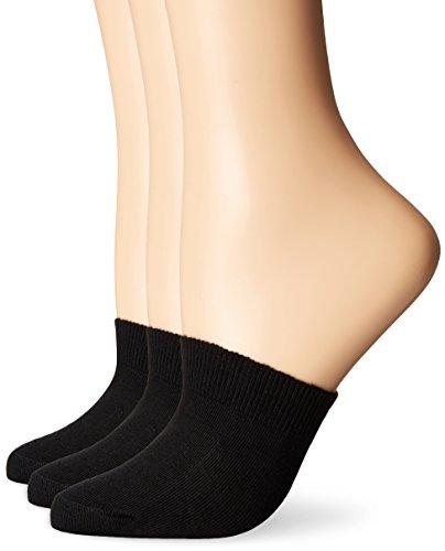 HUE Women's Cotton Toe Topper