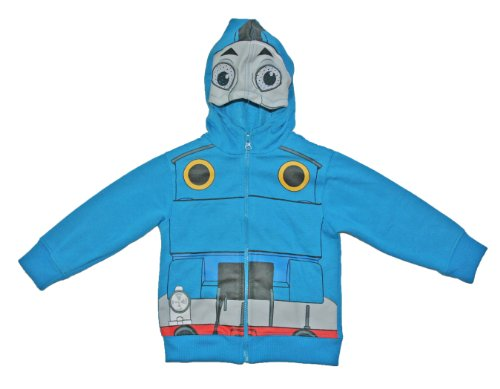 Thomas the Train Toddler Boys 2T-5T Costume Hoodie Jacket (3T) ()