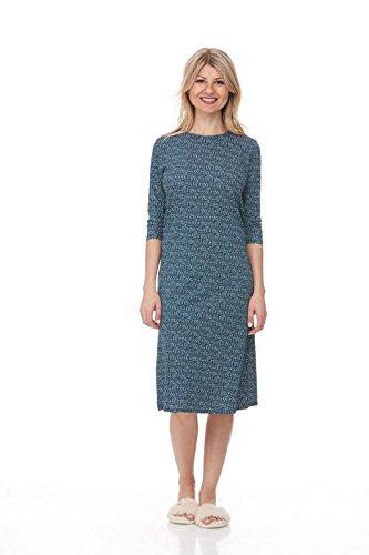 Esteez Womens Modest Comfy Stretchy Cotton Spandex Nightgown Pajamas