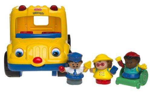 Fisher Price World of Little People Beeps the School Bus: Amazon ...