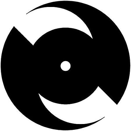 "NEW DEAL ND Logo Skateboard Sticker 4.75/"" reissue Green"