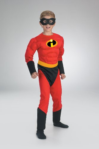 [Mr. Incredible Classic Muscle Costume - Medium] (Violet Incredible Costume)