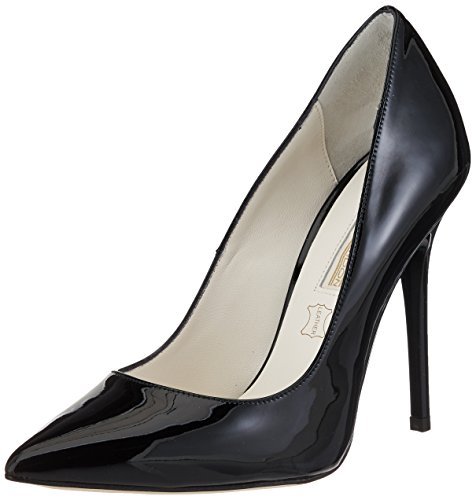Buffalo London 11335x-269 L Patent Leather, Zapatos de Tacón para Mujer Negro (Black 01)