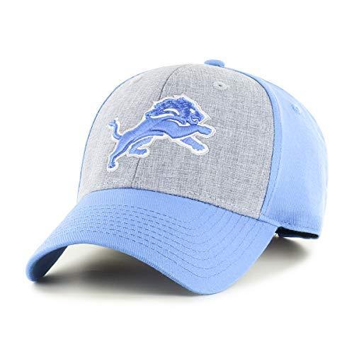 OTS NFL Detroit Lions Male Essential All-Star Adjustable Hat, Blue Raz, One Size