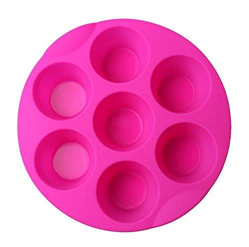 Round Muffin Pan. Kaqkiasiog 7 Cavity Egg Bite Mold