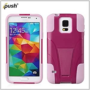 YULIN Samsung S5 I9600 compatible Special Design Plastic/Silicone Cases with Stand