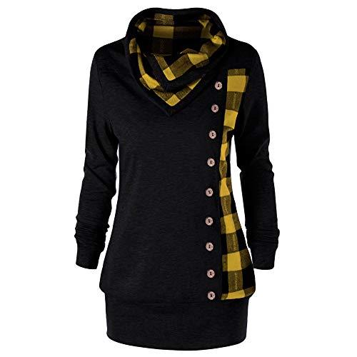 Winter Blau TOPKEAL 4 Warme Damen Mantel Jacke Mode Herbst XuOiZTPk