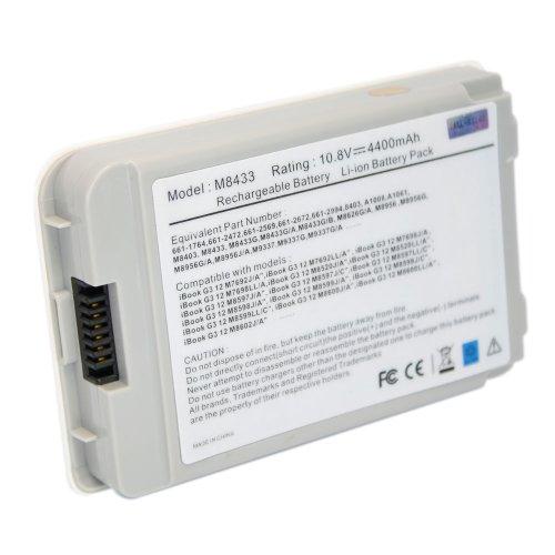 NEW 5200 mAh Li-ION Notebook/Laptop Battery for Apple iBook G4 12