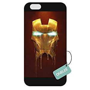 Onelee - Customized Ironman iPhone 6 Plus 5.5 Hard Plastic case cover - Black 04 by runtopwell