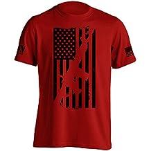 Dion Wear AR15 American Flag M4 T-Shirt