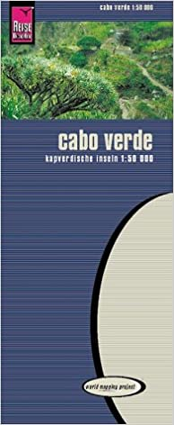 Cabo Verde Cape Verde Road Map World Mapping Project Reise