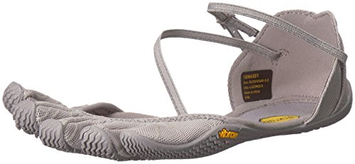 Vibram Women's Vi-S Slipper, Grey, 39 EU/7.5-8 M US B EU (39 EU/7.5-8 US US) by Vibram