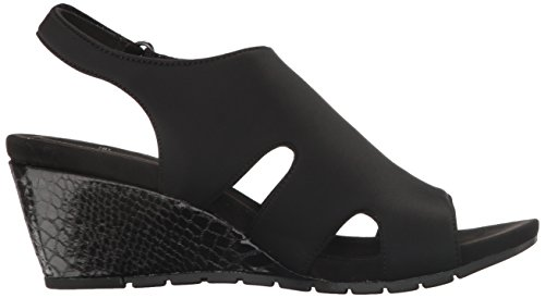 Zeh Leger galedale Frauen Black Bandolino Platform Sandalen Offener gFPnHtnwZq