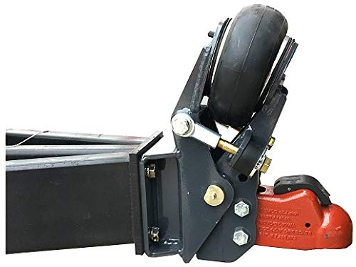 Shocker Air Trailer Tongue Mount Hitch with 2 5/16 inch Coupler - Square Plate Mount