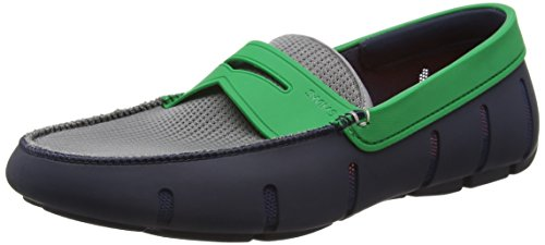 Classic SWIMS Penny Gray Navy Shoes Green Loafer Mens SWIMS Mens tHPUqq