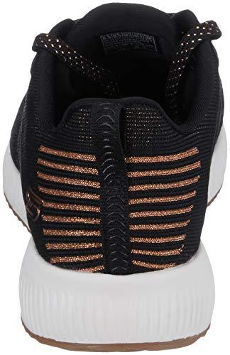Skechers glam League Squad Negro Para Zapatillas Mujer Bobs 447RnrPA