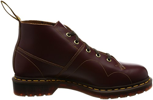 Boot Red Basse Scarpe Church Dr Martens Monnkey Adulto Unisex 6nxBEF