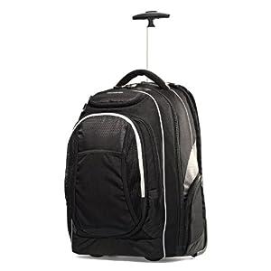 "Samsonite Tectonic Tectonic 21"" Wheeled Backpack Black"