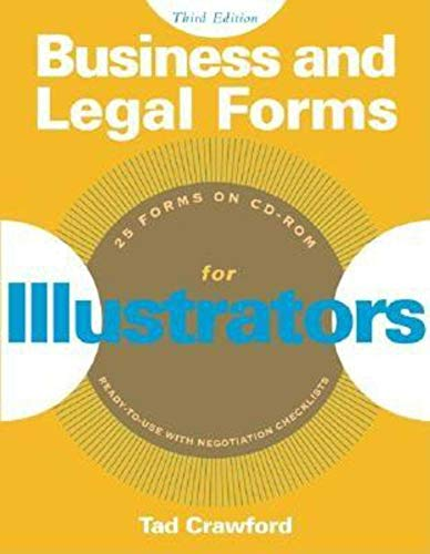 Business and Legal Forms for Illustrators (Business and...