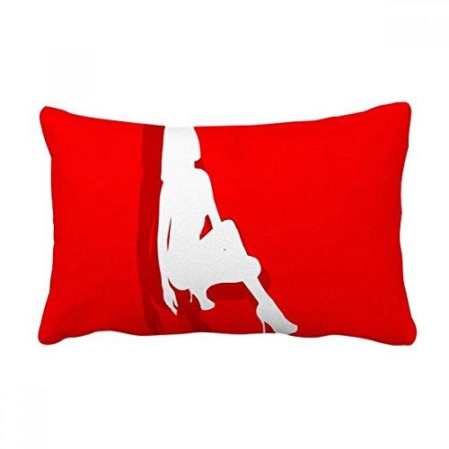 DIYthinker High-Heeled Shoe Women Throw Lumbar Pillow Insert Cushion Cover Home Sofa Decor Gift by DIYthinker