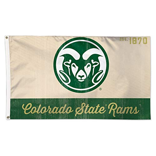 - WinCraft Colorado State Rams Retro Est. 1870 3x5 College Flag