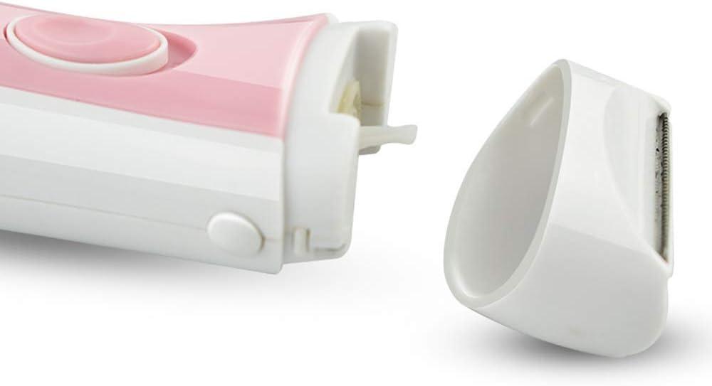 Depiladora eléctrica para mujer raspadora pelo pesado cortadora de ...