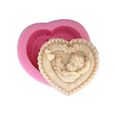 Let's DIY Little Angel Flower Fairy Butterfly Silicone Candle Moulds Handmade Soap Mold Let' S Diy