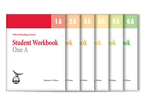 - Wilson Reading System Student Workbook 1-6A