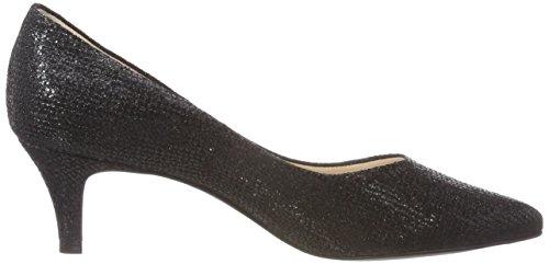 Mujer 55791 Kaiser Zapatos Tacón de Schwarz Negro Peter 192 Luce TXSqx5w5