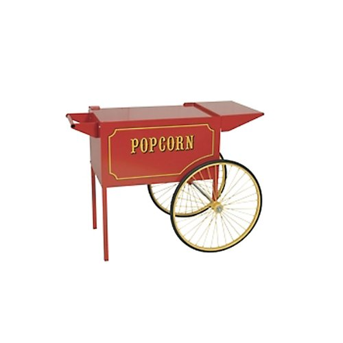 Paragon Large Popcorn Cart for 12 and 16-Ounce Poppers (Red) by Paragon - Manufactured Fun