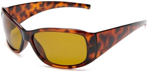 Eagle Eyes Women's Gemstone II Sunglasses,Amber Frame/Gold Brown Lens,one - Gem Sunglasses