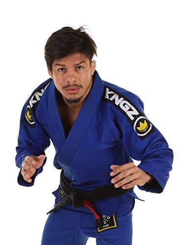 Kingz Basic 2.0 JIU Jitsu GI - Blue - Free White Belt - A2 ()