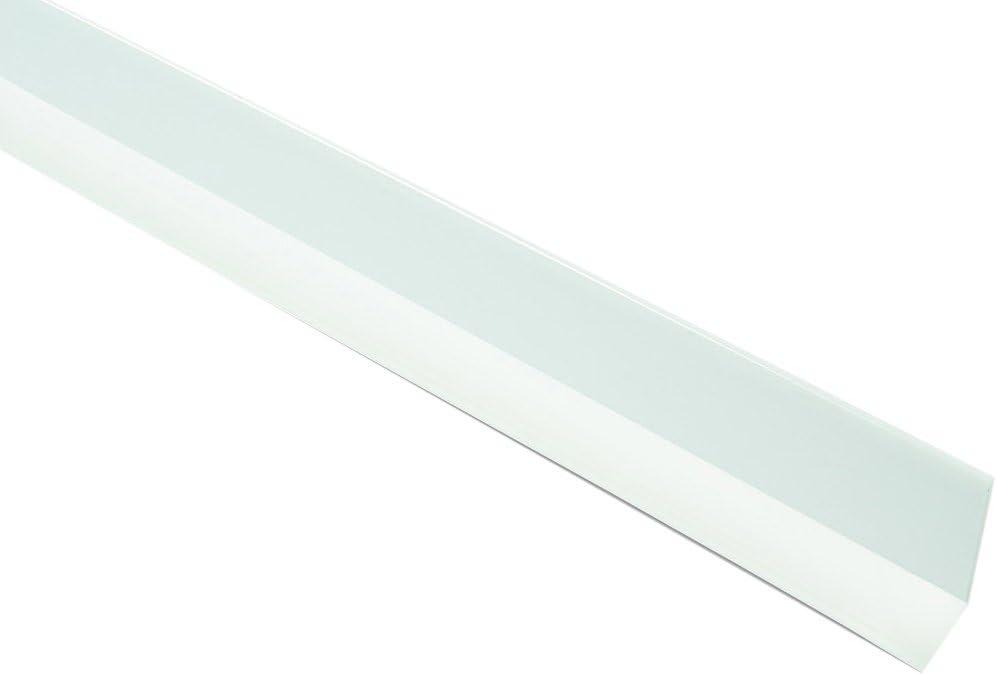 Blanco 100 cm Brinox Burlete Goma bajo Puerta