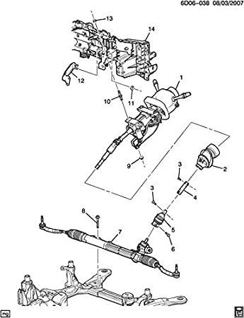 Amazon Com General Motors Cadillac Gm Oem 05 11 Sts Steering Column