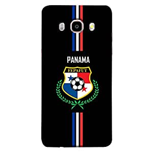 ColorKing Samsung J5 2016 Football Black Case shell cover - Fifa Panama 01
