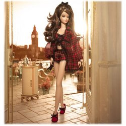 Barbie Fashion Model Collection: Highland Fling Barbie Doll By Mattel