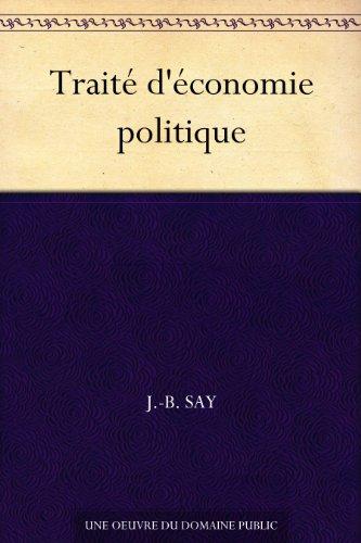 Traité d'économie politique (French Edition)