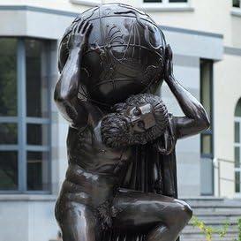 Jardín sueño Original escultura de bronce – Atlas el portador del Mundo, bronce: Amazon.es: Jardín