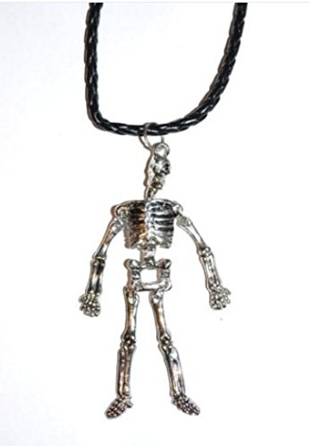 Skeleton Necklace/Pendant With Moveable Arms & Legs ()