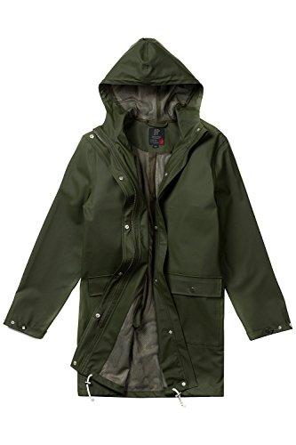Parka Caban Chaud Élégant Homme coat Manteau Slim Blouson Trench Hiver Casual Veste 708447 Grandes Fit Coat Jp1880 Kaki Tailles CxPw8qgqp