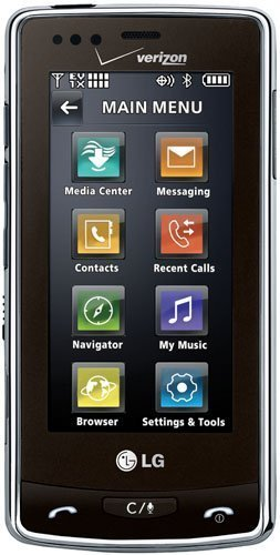 LG Versa VX9600 Phone, Black (Verizon Wireless)