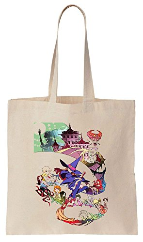 Canvas Tote Magic Artwork Cotton Little Bag Witch Academia XxvwqYpav