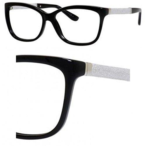 JIMMY CHOO Eyeglasses 105 0Fa3 Black 55MM from JIMMY CHOO