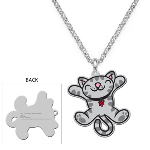 The Big Bang Theory Soft Kitty Jumping Necklace