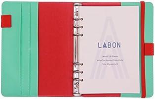LABONS A5 Papel Hoja Suelta para Filofax Anillas 6 hojas ...