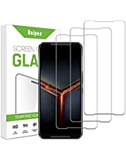 ZCIBN 3 pieces of ASUS ROG Phone 2, Phone 3 tempered glass, 9H hardness, high definition, scratch-resistant, no bubbles, easy to install, suitable for ASUS ROG Phone 2, Phone 3.