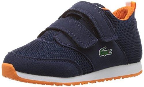 Lacoste Baby L.Ight 217 1, Navy, 9. M US Infant