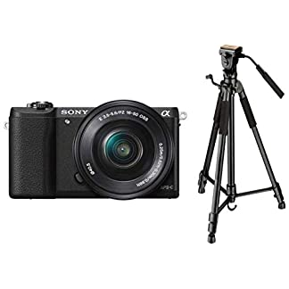 Sony Alpha ILCE5100L 24.3MP Digital SLR Camera (Black) with 16-50mm Lens, Bag & Digitek DTR 590 VD PRO Tripod (Black) 8