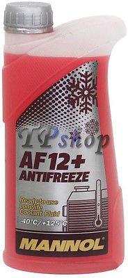 Líquido anticongelante refrigerante para radiadores coche -40 °C + 125 °C AF16 +